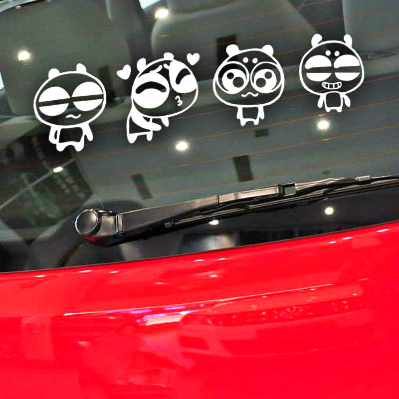 Aliauto Grappige Panda Occlusie Kras Auto Sticker Sticker voor Motorfiets Toyota Proda Corolla 2014 Auris Camry Verso Hilux Tundra