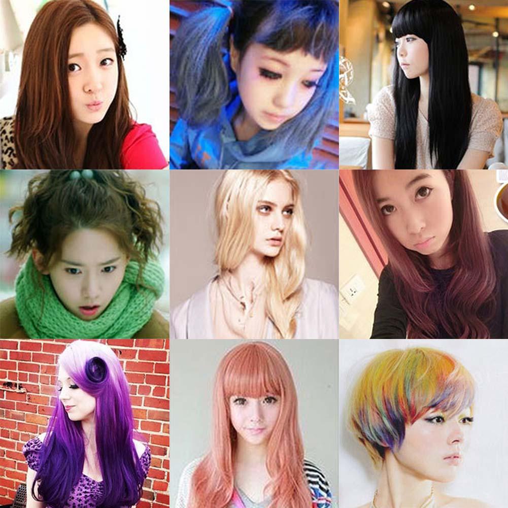 Одноразовые краски для волос в спрее