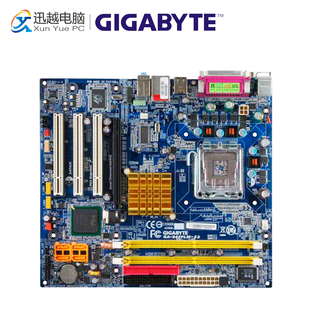 Gigabyte GA-945PLM-S2 Desktop Motherboard 945PLM-S2 945PL LGA 775 DDR2 Micro ATX dkny willoughby ny2553