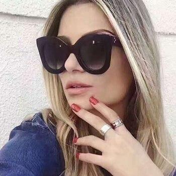 2017 Горячая Распродажа Модные женские заклепочные оттенки большая оправа Стиль Солнцезащитные очки женские роскошные брендовые дизайнерск... >> Max glasiz Official Store