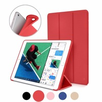 Case for Apple iPad air Ultra Slim Smart Case Cover Stand with Flexible Soft TPU Back Cover for iPad Air Auto Sleep/Wake Funda