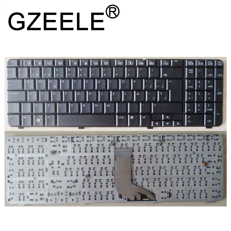 GZEELE SP laptop keyboard FOR HP Compaq Presario CQ61 G61 CQ61 100 CQ61 200 CQ61 300 CQ61 400 CQ61z 300 CQ61Z 400 SP spanish new in Replacement Keyboards from Computer Office