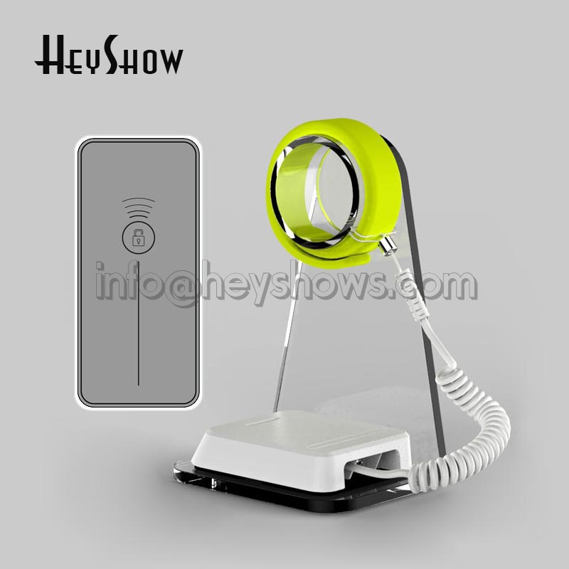 10x Watch security stand Apple watch alarm holder smart watch display Acrylic lock for retail store with key or remote control newly launched german talking watch for blind or low vison people with alarm for the elderly speaking quartz