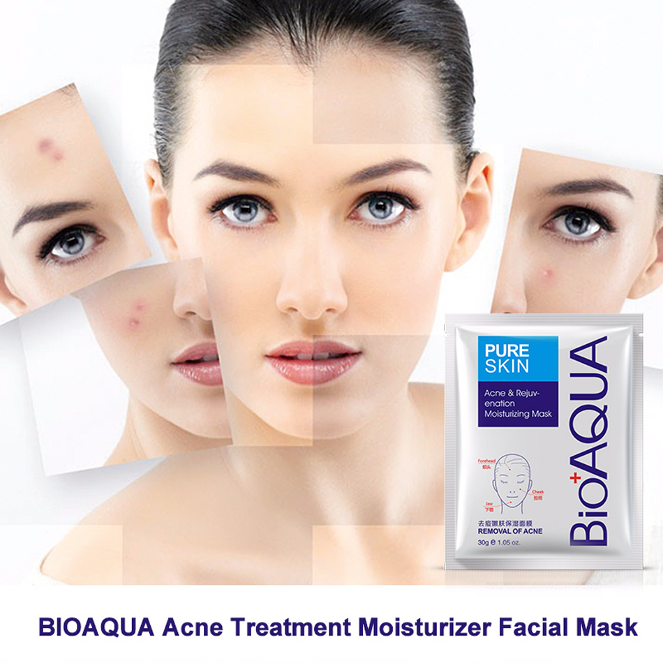 Bioaqua acne treatment facial mask effective removal acne face mask bioaqua acne treatment facial mask effective removal acne face mask moisture nourishing oil control mask sheet for manwoman in masks from beauty health solutioingenieria Gallery