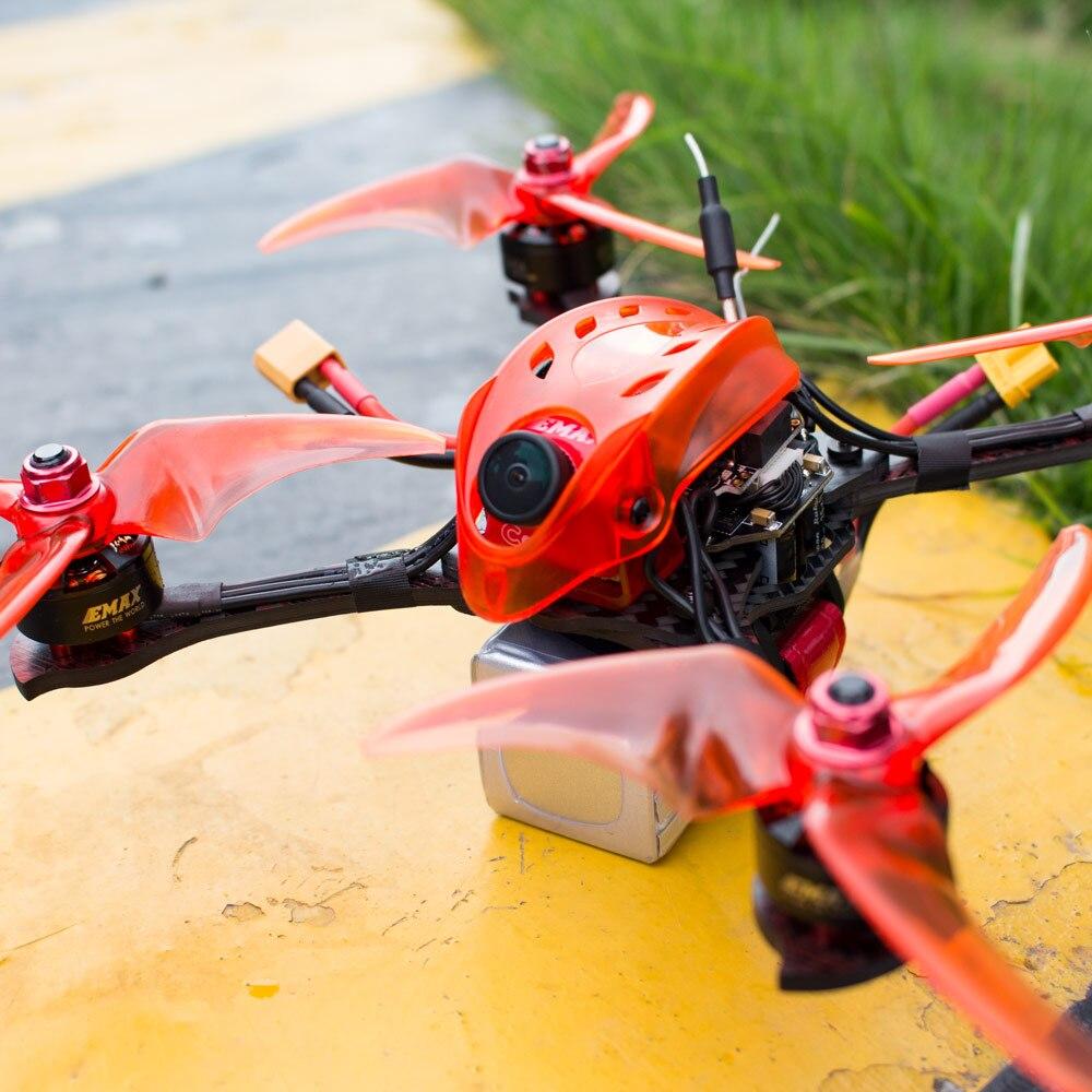 Emax Babyhawk R pro 4 pouces RC avion F4 Mini Magnum III BLHeli32 3-6s RS1606 3300kv BNF Frsky D8 FPV drone de course avec cadeau - 6