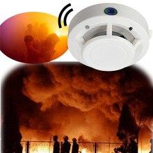 NEW High Sensitive 85DB DC 9V Fire Control Smoke Gas Odor Sensor Induction Alarm Detector Home Safely Security White