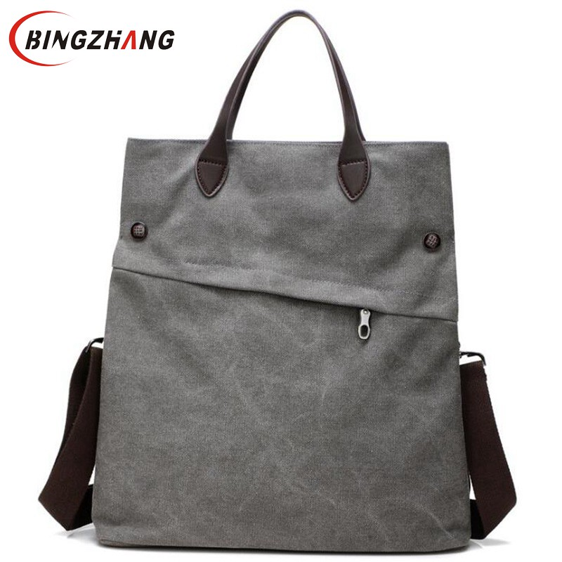 Woman Bags Fashion Handbag 2018 Women Canvas Handbags Lady Shoulder Bag Classic Messenge ...