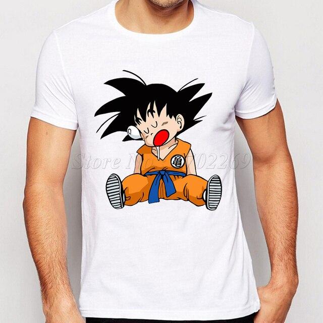 Anime Dragon Ball Z Super Saiyan Printed T Shirt