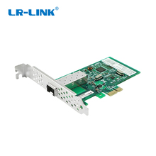 LR LINK 9270PF SFP Gigabit Ethernet Lan Card PCI E PCI Express x1 Fiber Optical Network Card Adapter Realtek RTL8111H For PC NIC