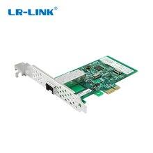 LR LINK 9270PF SFP Gigabit Ethernet Lan Card PCI e pci Express x1 Fiber Optische Netwerkkaart Adapter Realtek RTL8111H Voor PC NIC