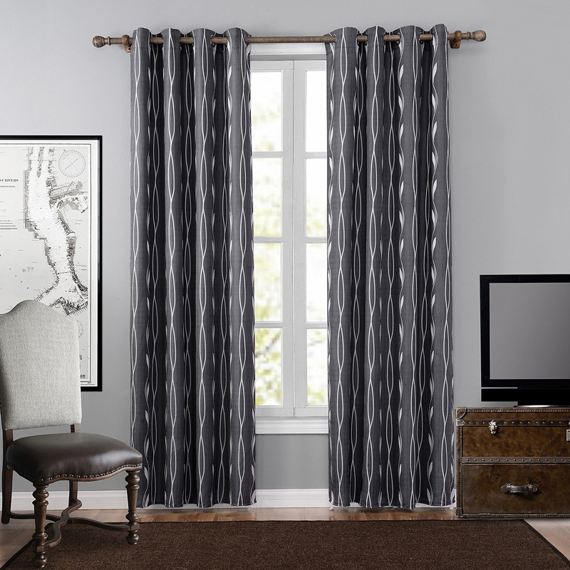 Fabrics Blackout Curtains For Living Room 2017 New Luxury Europe Curtains  Black Drapes Sheer Window Curtains
