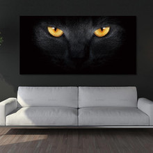 Canvas Wall art Pictures for Living Room Decoration Animal Poster cat Art Painting No Framex canvas wall elephant
