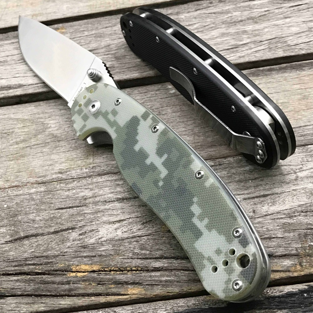 Image 5 - LDT RAT Model 1 Folding Knife AUS 8 Blade G10 Handle Tactical Knives Utility Outdoor Camping Survival Pocket Knife EDC Tools-in Knives from Tools