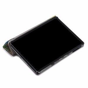 Image 5 - 高品質 PU 保護ケース三星銀河タブ 10.5 T590 T595 T597 SM T590 SM T595 カバー + スクリーンプロテクターギフト