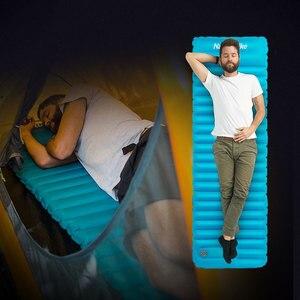 Image 5 - Naturehike açık itme şişme kamp Mat çadır açık zarf su geçirmez uyku pedi piknik katlanır yatak