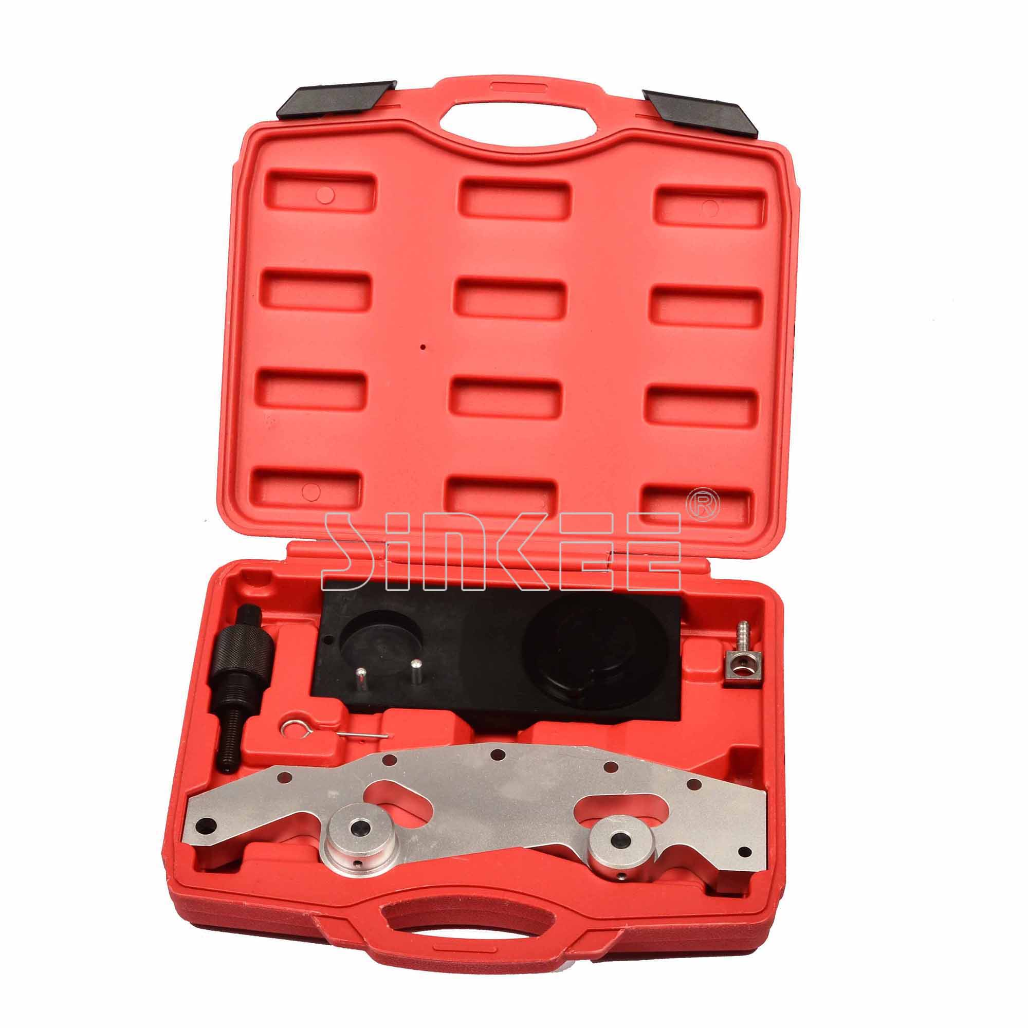 Double Vanos Assembly Timing Engine Tool 5pc Set For BMW M52TU/M54/M56 double vanos car gargue tools for bmw m52 m52tu m54 m56 engines camshaft alignment timing locking tool