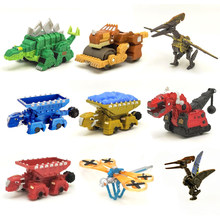 Carro de brinquedo de dinossauro, mini modelos de dinossauro removível para presente de crianças, modelos de brinquedos para mini crianças