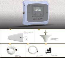 Новое Прибытие! DUAL BAND 850/1900 мГц скорость 2 г 3 г мобильного сигнала усилитель сигнала ретранслятор сотового сигнала усилитель с ЖК-дисплей комплект