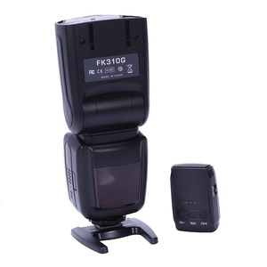 Image 2 - Fk310G Flash For Canon Eos Digital Camera, Eos Apron Camera, Nikon Digital Camera With Wireless Flasher