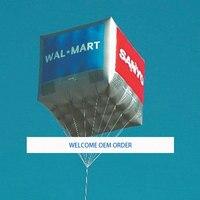 2 м по 2 м надувные площади рекламные шары с гелием