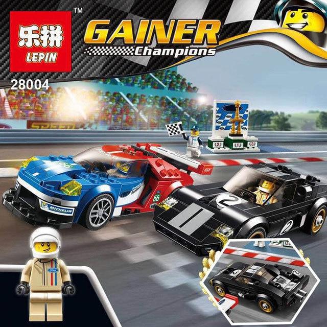 Lepin  Technic Speed Champions  Ford Gt  Ford Gt Building Blocks Figures Bricks