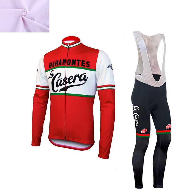где купить CUSROO 2016 winter cycling clothing fleece thermal cycling jersey pro bike clothes mtb ropa ciclismo invierno maillot Customized по лучшей цене