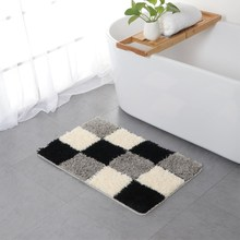 European Polyester Microfiber Bathroom Absorbent Mat Home Door Mat Coffee Table Living Room Bedroom Mat Kitchen Absorbent Pad pebble series flannel printing home anti slip absorbent entry mat bathroom mat door mat bedside mat