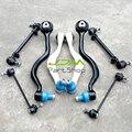 Front Suspension Control Arms Tie Rods Kit For BMW E32 735i 735iL 740i 750iL 740iL
