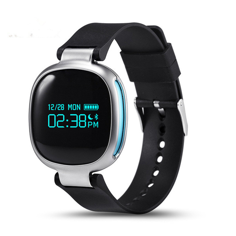 New Phonewatch E08 Smartband Bluetooth 4 0 IP67 Waterproof Swimming Support Heart Rate MonitorRiding Mode for