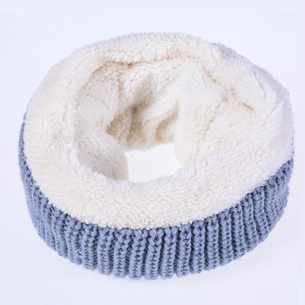 Ladies Infinity Neck Knit Warm Loop Winter Snood Scarf Circle