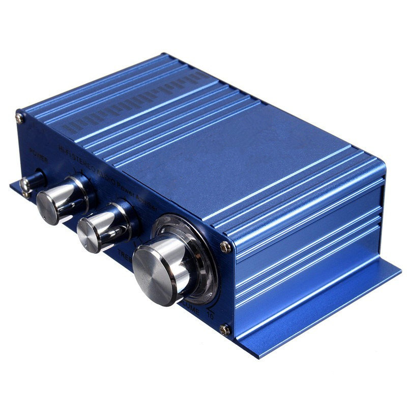 New Arrival Hot Selling Mini 180W 180W 2CH 12V Small Stereo Audio High Power Car Amplifier