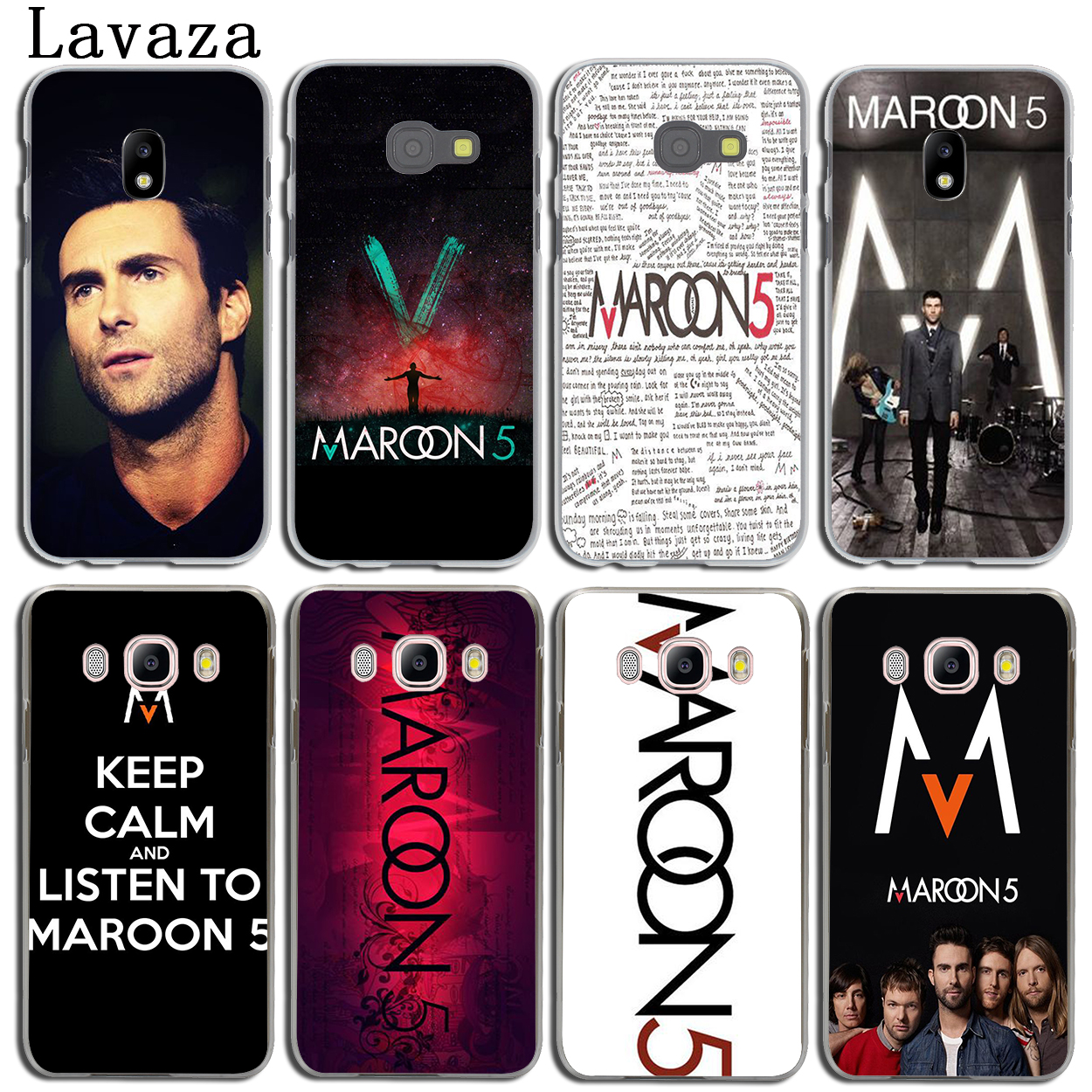 Lavaza maroon 5 Phone Shell Cover Case for Samsung Galaxy J3 J1 J2 J7 J5 2015 2016 2017 J2 Pro Ace J7 J3 J5 Prime Case