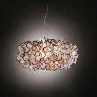 New Design Suspension Lamp Handcraft Colorful Gradient Acrylic Flower Led Pendant Light Bedroom Dining Room Hanging Light