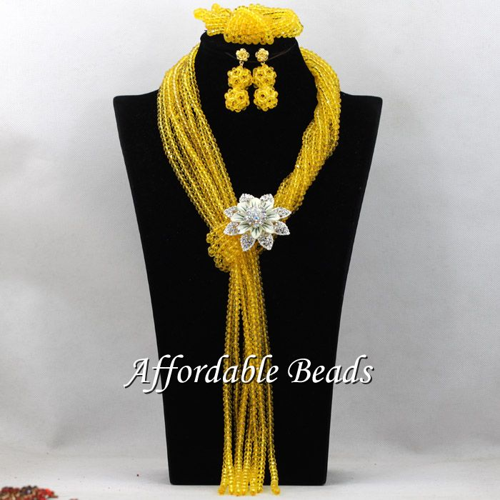 Lemon Yellow Party Jewelry Sets Charming Costume Jewelry Necklace Sets Wholesale HEB060 бинокль leica ultravid colorline 8x20 lemon yellow