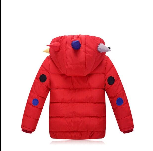 Горячее надувательство 2016 новых зимней моды теплый свитер Мальчики и Девочки пальто толстые Дети Детская одежда HB1040