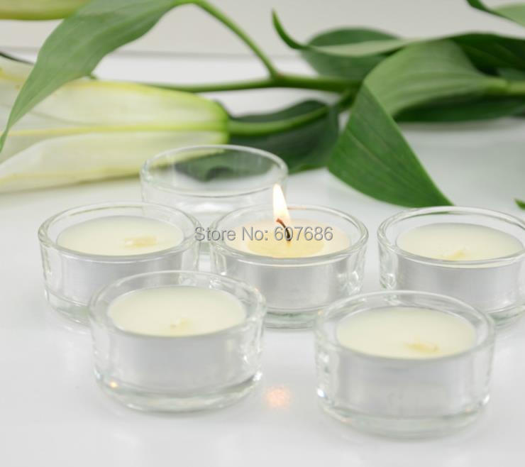 Nice Glass T Light Holders Part - 13: 72 Pieces Clear Glass Candle Holders Votives Tea Lights Wedding Centerpiece  Plain Simple Round Candle Tealight