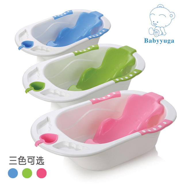 Baby bath basin bathtub blue whale infant tub-in Baby Tubs from ...