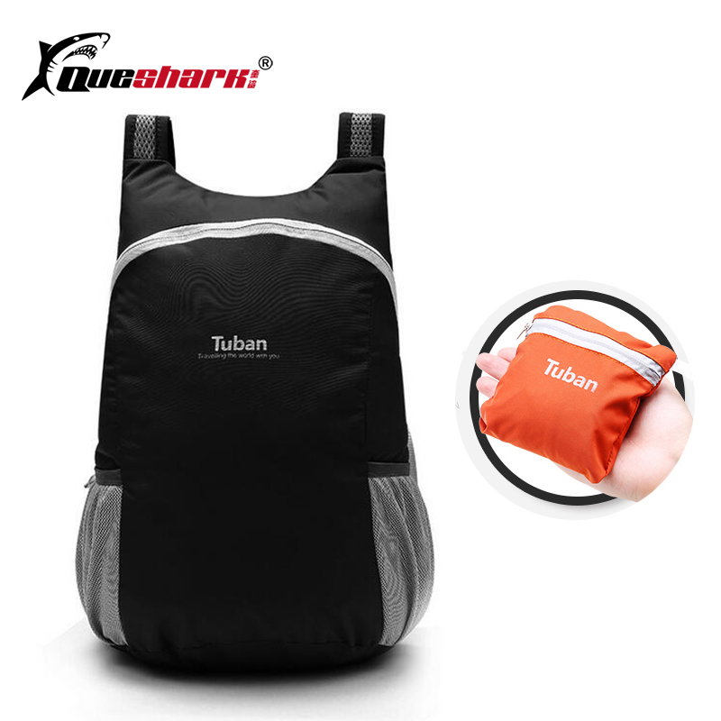 Men Women Ultralight Foldable Sport Bag Waterproof Cycling Backpack Climbing Camping Hiking Travel Shopping Fitness Gym Bag