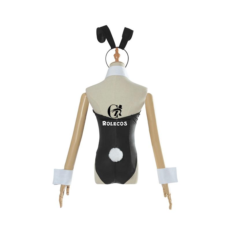 ROLECOS Anime Sakurajima Mai Costume - Bunny Girl 4