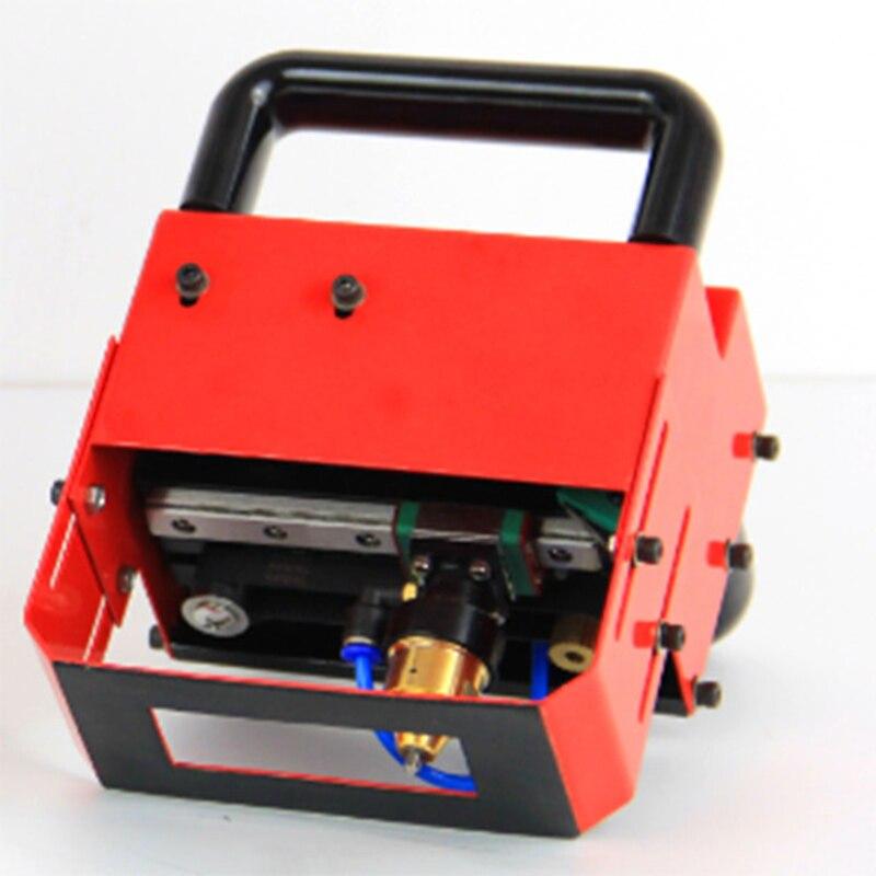 220V 110V Portable Metal Pneumatic Dot Peen Marking Machine For VIN Code 80 20mm Frame Marking
