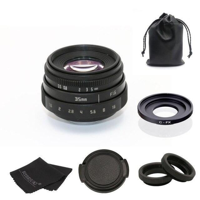 Fuji を 35 ミリメートル f1.6 C マウントカメラ CCTV レンズ II + C マウントアダプタリング + マクロ fuji fuji フィルム X Pro1 (C FX)