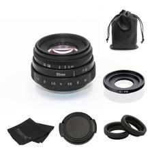 fujian 35mm f1.6 C mount camera CCTV Lens II +C mount adapter ring+Macro for Fuji Fujifilm X Pro1 (C FX)