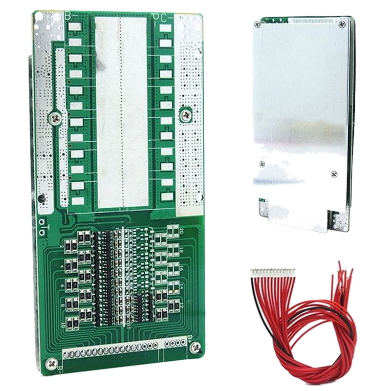 48V 13S 45A Li-Ion Battery Bms Pcb Protection Board With Balance Suitable For Ebike Li-Ion Battery 120 X 60 X 9Mm