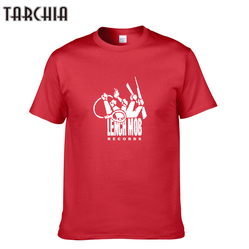 TARCHIA Brand Funny Print Tops Cotton Short Sleeve Summer T Shirts Casual Slim Fit Hip Hop Men Plus Size Tees Tops Homme
