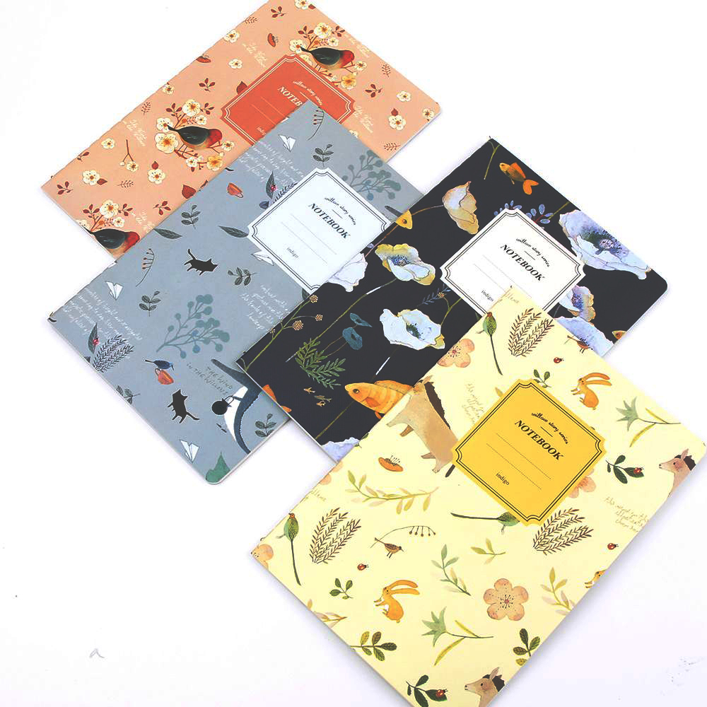 1PC Cute Nature Animal Plant A5 Notebook 32 Page Notepad Diary Journal 2019 Planner Stationery Office School Supplies