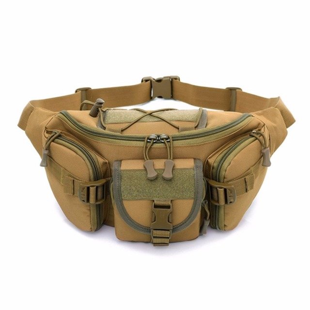 7ba5997e8ab0 US $22.83 |2018 NEW Multifunction Waist Pack Pouch For Men Women Male  Military Bag Large Capacity Army Equipment Belt Bags-in Waist Packs from  Luggage ...