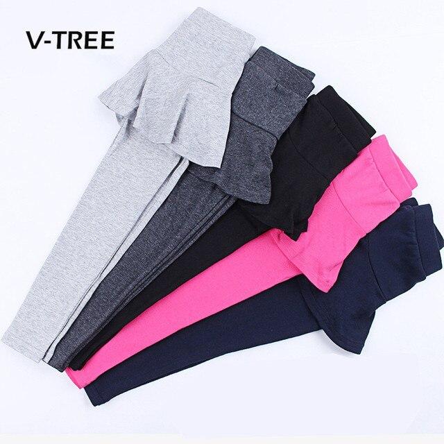 בנות בגדי חותלות כותנה מכנסיים צבע ממתקי חצאית לילדים ילדה בגיל ההתבגרות מכנסיים ילדים צפצף בגדי 3-10 שנה