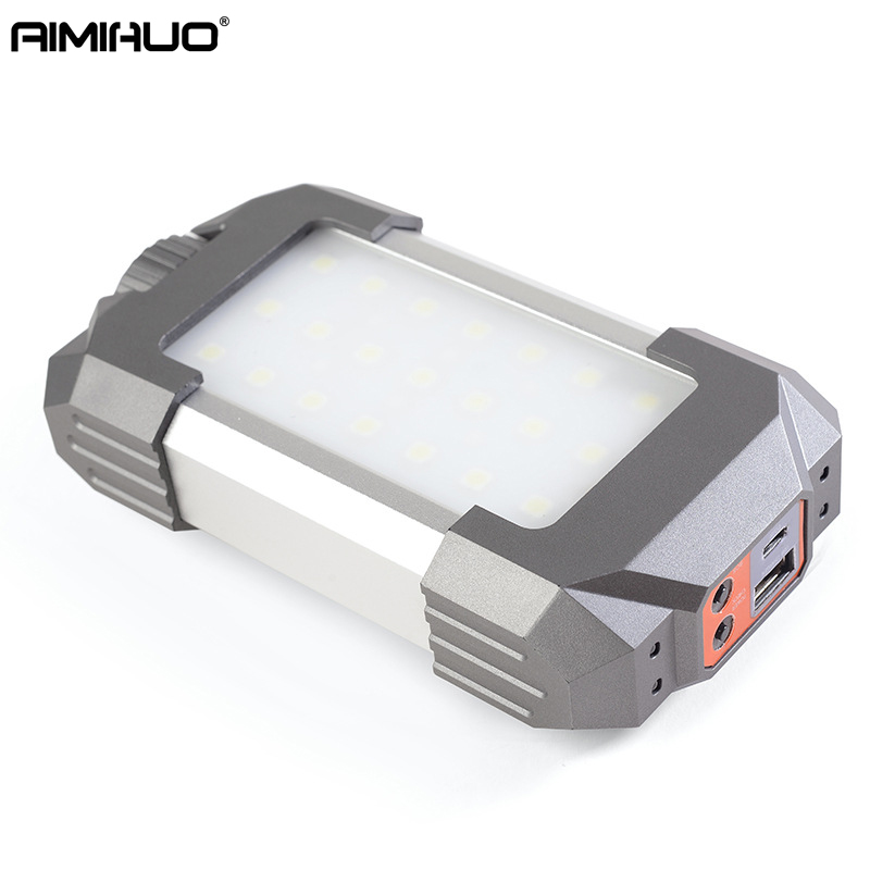 AIMIHUO Multifunction portable Outdoor Camping Light LED Flashlight Portable Lantern Mini Tent Power Light Emergency Lamp Torch cob led work light usb rechargeable camping light outdoor portable tent light emergency light maintenance light working lamp red