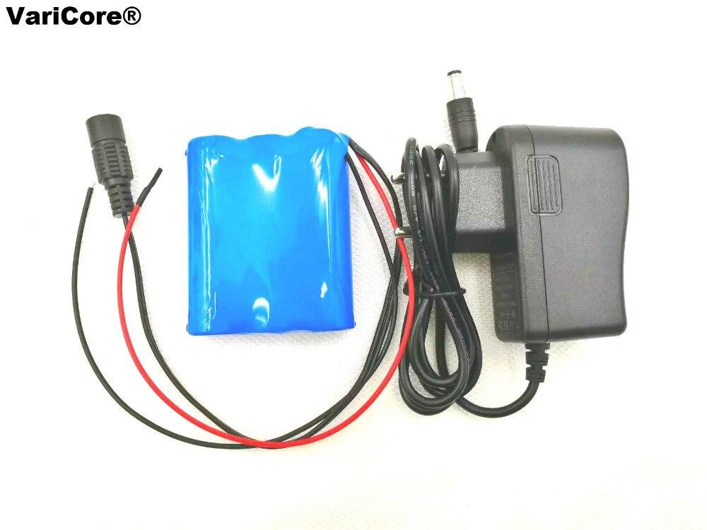 VariCore 12V 2000mAh alta velocidad 15C 22A descarga 18650 li-lon batería para taladro eléctrico con cargador de 12,6 V 1A