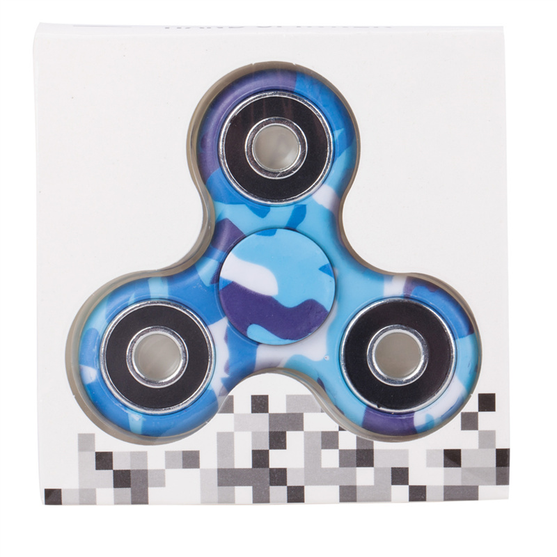 camouflage hand spinner spinning pack blue